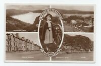 Welsh Greetings from Barmouth 1953 Real Photo Postcard 999A