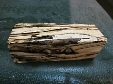 SPALTED HACKBERRY DELUXE KNIFE BLOCK/SCALES/ CALLS/ PEN BLANKS--HH---21