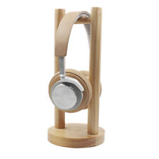 US Universal Wooden Earphone Headset Hanger Holder Headphone Desk Monitor Stand