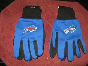 TWO  PAIR OF BUFFALO BILLS SPORT UTILITY GLOVES FROM FOREVER COLLECTABLES
