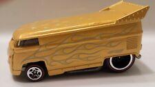 hot wheels since 68 top 40 Volkswagen drag bus yellow mint