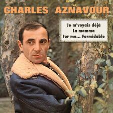 CD Charles Aznavour : 30 Chansons  For me formidable, Je m'voyais déjà, La mamma