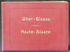 Ober-Elsass Haute-Alsace, Alphonse Wioland vers 1900 TBE