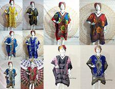 WHOLESALE LOT 10 iNDIA Short MAXI TUNIC ETHNIC KAFTAN CASUAL WOMEN EVENING DRESS