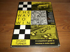 Book The Way to Win Competitor's Guide to Success in Motor Sport Rallying Racing