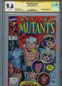 CGC 9.6 Signature Series New Mutants #87 1st Cable McFarlane Signature