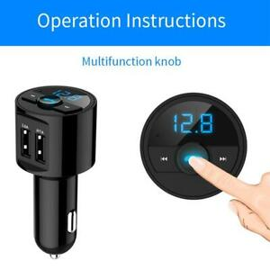 Wireless Bluetooth Car FM Transmitter Radio MP3 Player USB Charger Kit*Handsfree