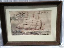 VINTAGE/REPRINT-NORDDEUTSCHER LLOYD/BREMEN/CRUISE LINER/1903/SAILING SHIP