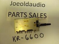 Kenwood Receiver KR 6600 6060 7600 7060 Acoustic Switch. Parting Entire KR 6600.