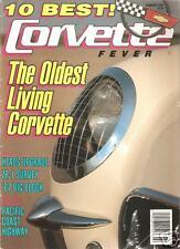 FEBRUARY 1991 CORVETTE FEVER AUSTRIA EURO CORVETTES 1967 435 HORSE L71 CORVETTE