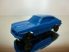 STELCO GERMANY VINYL FORD CAPRI - BLUE 1:43 - GOOD CONDITION - NO TOMTE