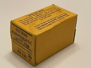 Vintage Kodak Fluorographic Film 35mm Expired