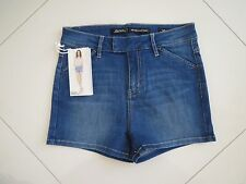 BN Riders by Lee Ladies High Rise Cheeky Stretch Denim Shorts   Size 10