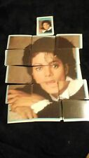 MICHAEL JACKSON TRADING CARDS PUZZLES 100+ AND PIN  1984