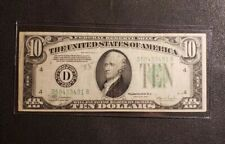 Series of 1934C, US $10 Dollar Bill, Federal Reserve Note Bank of Ohio