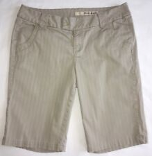 DKNY Jeans Tan Beige Bermuda Walking Shorts Size 10