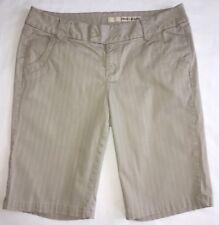 DKNY JEANS Tan Beige Bermuda Walking Long Shorts Size 10