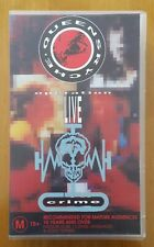 QUEENSRYCHE-OPERATION :LIVE CRIME -1991- MUSIC VHS VIDEO - EXCELLENT CONDITION