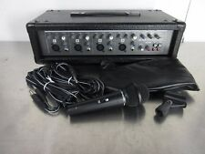 Phonic Powerpod 410 Powered Mixer with Mic, Speaker Cables - Built in Delay