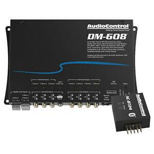AudioControl DM-608 6 By 8 Channel Digital Signal Processor, Bluetooth Streamer