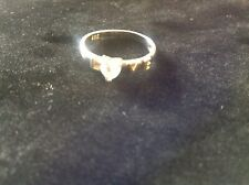 Love ring 925 silver size P uk size 8 us