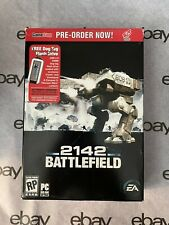 Battlefield 2142 PC DVD-Rom 2006 Windows Action Game No Dog Tag Mint
