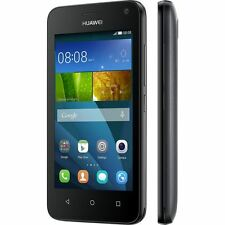 New Condition Huawei Ascend Y360 Android Black 4GB Unlocked Smartphone