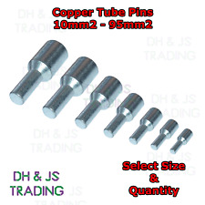 Heavy Duty Brass Copper Tube Pins 10mm² 16mm² 25mm² 35mm² 50mm² 70mm² 95mm²