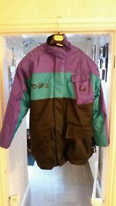 Vintage Mens BELSTAFF PRO-BIKA Waterproof Motorbike Jacket Size M 2 in 1 Coat