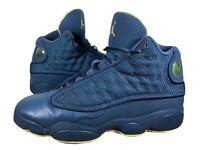 Nike Air Jordan XIII 13 Retro GS- Youth- Size 7Y- Wmns 8.5-Squadron [414574-405]