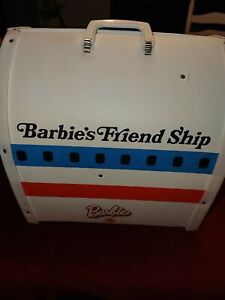 Vintage Barbie Friend Ship United Airline Airplane Plane Play Set 1970's used