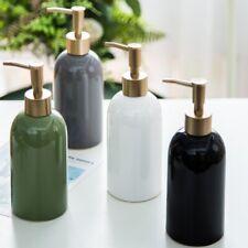 Noble Soap Dispenser Latex Bottle Bathroom Accessory Ceramic Home Decoration NEW