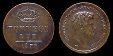 pci1119) Napoli Regno delle Due Sicilie Ferdinando II 2 Tornesi 1859