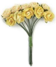 Kaisercraft Paper Blooms Mini Flowers Buttercream Yellow Cream Nini's Things