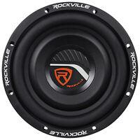 "Rockville W8T4-S2 8"" Shallow Mount 1000 Watt Slim Car Audio Subwoofer 2-Ohm Sub"