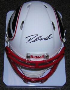 D'andre Swift Riddell Autographed Mini Helmet Georgia Amp Alternate Fanatics