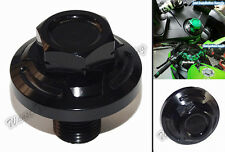 CNC Steering Stem Top Yoke Cap Plug Nut Black Fit 1988-2012 KAWASAKI Ninja 250R