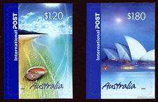 2005 Greetings International Post Self Adhesive MUH SG2500/1 Stamps Australia