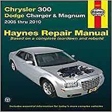 Haynes Dodge Charger (06-10) RT flotta della polizia se Proprietari Manuale Servizio Manuale