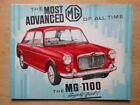 MG 1100 SALOON orig 1963 1964 UK Mkt Sales Brochure