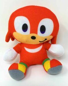 Sonic the Hedgehog Knuckles Plush Stuffed Figure SEGA Boys Girls Kids Toy Gift