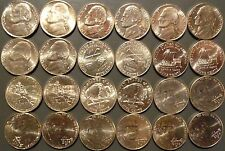 1965-2018 Jefferson Nickel Choice/Gem Uncirculated Complete Date/MM Set 109 pcs.