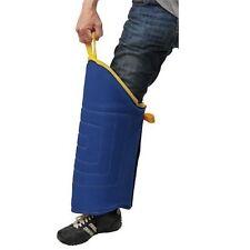 Morbida protezione in tela francese per la gamba dell'addestratore del cane
