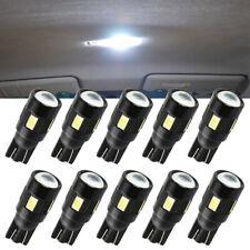 10x T10 LED Error Free Bulbs 6 SMD W5W Canbus Car Interior Lights Side Light UK