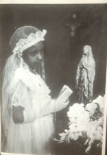 "James Van Der Zee ""Girl's Confirmation Photo"" Black Art Photography 35mm Slide"