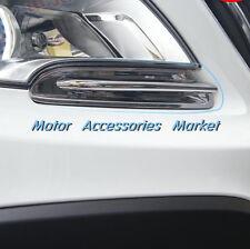 Chrome Front Light Trim Eyelid For Opel Vauxhall Mokka Buick Encore 2013-2015
