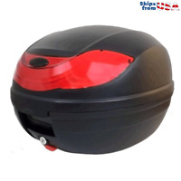 Motorcycle Scooter Top Box Tail Trunk Luggage Box - 32 Lt Capacity (One Helmet)