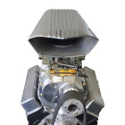 Air Scoop Finned Polished Filter Dual 4 Bbl Carburetor Mad Max Dooley Kit