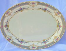 """1x Minton Persian Rose Hand Finished Very Large Platter Meat Plate 16.25"""" - 42cm"""