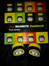 The Marmite Cookbook + 2 jars of Marmite